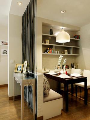 135平米现代简约风格餐厅隔断设计效果图赏析