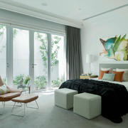 110平米现代简约风格卧室装修效果图赏析