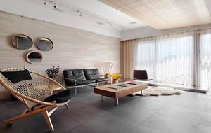 86平米现代极简主义风格室内装修效果图鉴赏