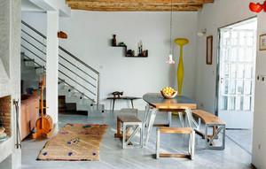 现代loft风格复式楼室内装修效果图赏析