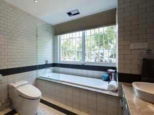 125平米现代美式风格室内装修效果图赏析