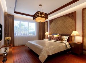 110平米中式风格室内装修效果图赏析
