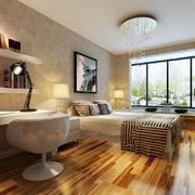 13平米现代简约风格卧室装修效果图赏析