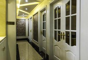 110平米欧式风精致典雅室内装修效果图赏析