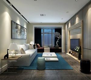 116平米北欧风格三室一厅装修效果图赏析