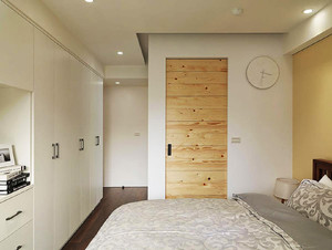 后现代工业风格自然随性三居室设计效果图鉴赏
