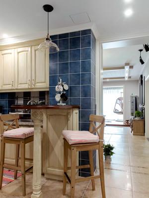 8平米地中海风格厨房吧台设计效果图鉴赏