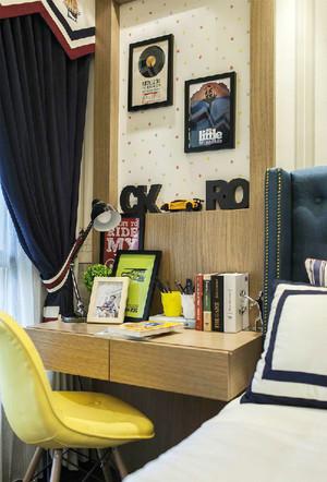 美式风格时尚混搭三室一厅设计效果图赏析