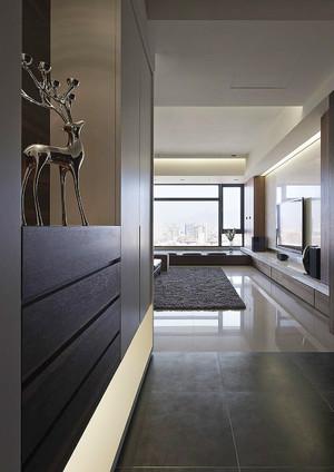 112平米后现代风格简约精致室内设计效果图
