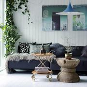 北欧风格小户型客厅吊灯设计装修效果图