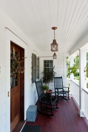 现代美式风格别墅阳台设计装修效果图赏析