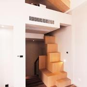 后现代风格跃层创意楼梯设计装修效果图