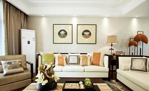 现代简约风格客厅沙发背景墙设计效果图