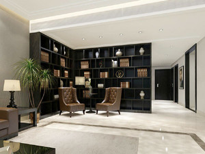 136平米大户型现代风格精致室内设计装修效果图