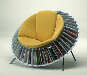 5平米现代风格时尚创意客厅书架装修效果图大全