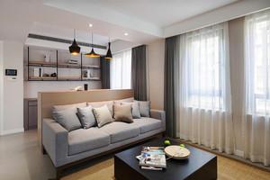 现代简约风格两室两厅装修效果图鉴赏
