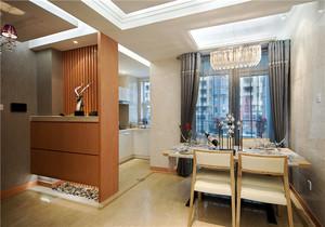现代简约风格恬静温馨三居室装修效果图赏析