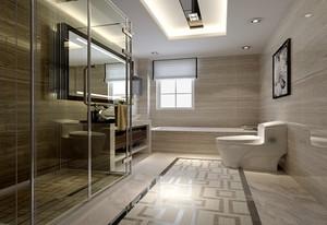 新古典中式风格四室两厅室内装修效果图赏析