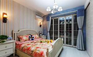 136平米复式楼地中海风格精致室内整体装修效果图赏析