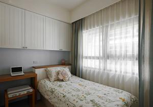 93平米地中海风格精致两室两厅装修效果图