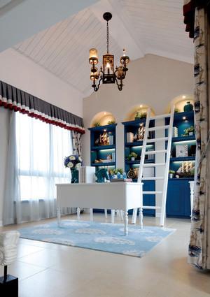 200平米地中海风格别墅室内设计整体装修效果图