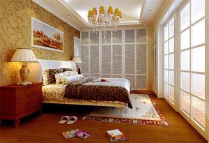 96平米美式田园风格精致公寓装修效果图赏析