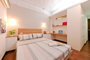 83平米韩式风格自然简约两居室装修效果图
