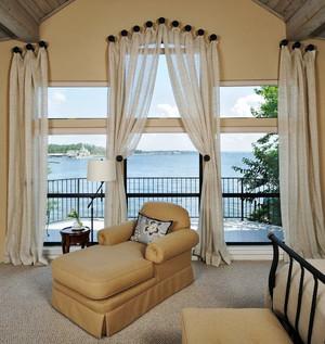 欧式两层别墅景观阳台装修效果图鉴赏