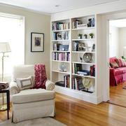 小户型现代简约风格客厅储物柜装修效果图