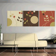 都市简约风格客厅沙发背景墙装修效果图