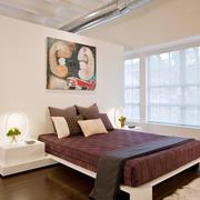 后现代风格大户型客厅卧室隔断装修效果图