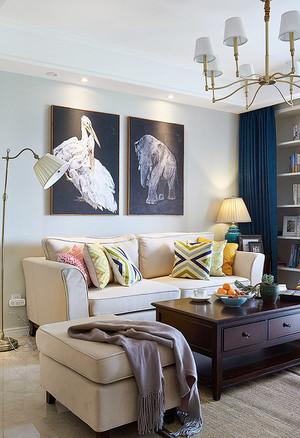 126平米地中海风格时尚混搭公寓装修效果图鉴赏