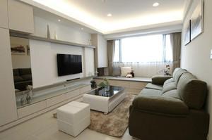 115平米现代简约风格四室一厅装修实景图鉴赏