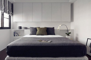 现代极简主义风格两居室装修效果图鉴赏