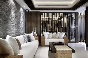 大户型后现代风格公寓设计实景图赏析