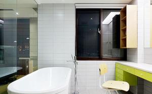 116平米后现代风格四室一厅装修效果图案例
