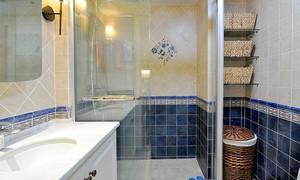 现代美式风格精致三居室装修效果图鉴赏