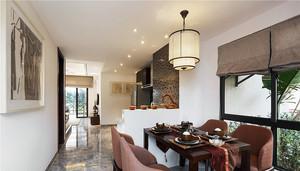 现代东南亚风格两室两厅装修效果图鉴赏