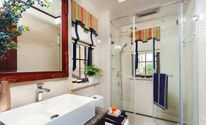 112平米东南亚风格精致三室两厅装修效果图鉴赏