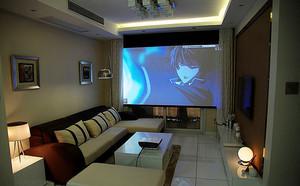 韩式简约风格小户型室内装修效果图实例