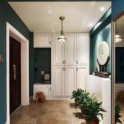 6平米现代法式风格门厅吊灯装修效果图