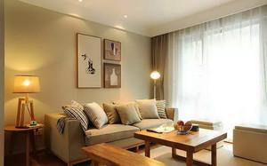 现代简约风格两室两厅装修效果图赏析