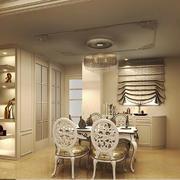 大户型奢华欧式风格餐厅吊顶设计装修效果图