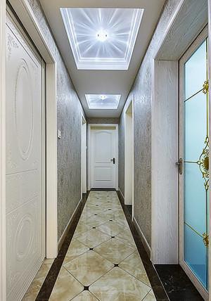 大户型欧式风格过道大理石地砖装修效果图