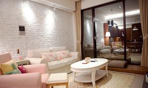 都市清新风格大户型客厅沙发设计装修效果图