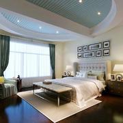 地中海风格大户型卧室天花设计效果图鉴赏