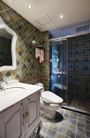 复古美式风格精致混搭公寓设计装修效果图