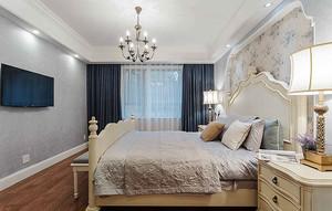 126平米地中海风格三室一厅装修效果图赏析