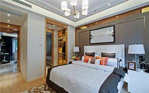 欧式风格精致典雅三居室装修效果图实例