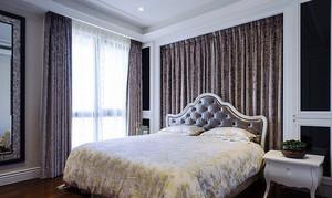 20平米法式奢华女生卧室窗帘设计效果图鉴赏